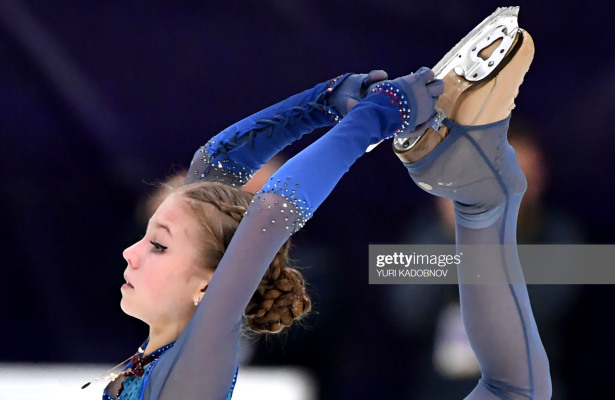 Trusova dominates ladies in Moscow for second consecutive Grand Prix gold