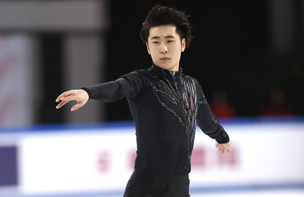 Boyang Jin wins first Grand Prix gold on home ice