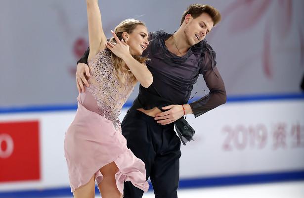 Sinitsina and Katsalapov take first Grand Prix gold at Cup of China
