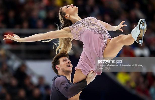 Sinitsina and Katsalapov take second consecutive Grand Prix gold in Moscow