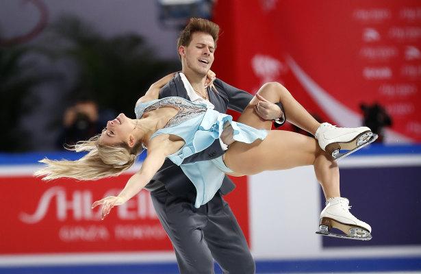 Victoria Sinitsina and Nikita Katsalapov