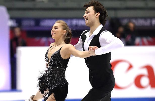Maria Kazakova and Georgy Reviya