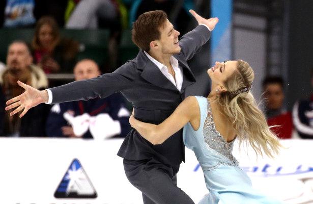 Victoria Sinitsina and Nikita Katsalapov.