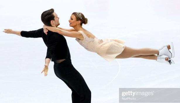 Kirsten Moore-Towers and Michael Marinaro