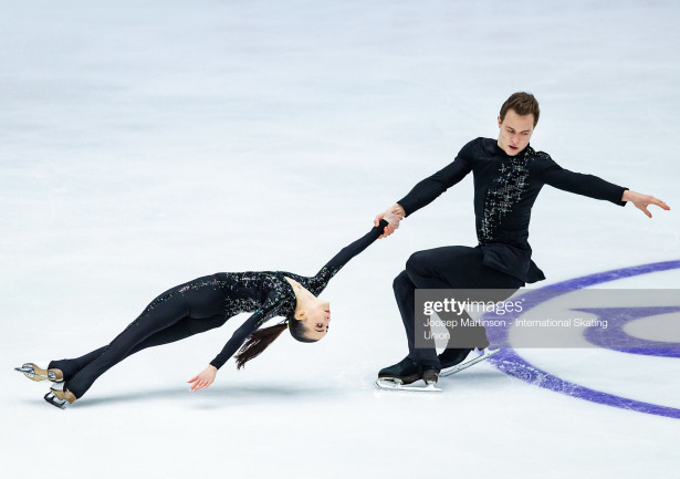 Apollinariia Panfilova and Dmitry Rylov