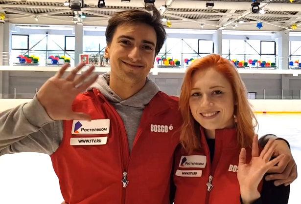 Tiffani Zagorski and Jonathan Guerreiro