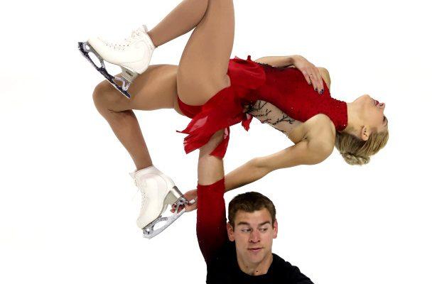Alexa Scimeca Knierim and Brandon Frazier