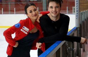 Elizaveta Khudaiberdieva and Egor Bazin