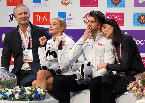 Alexandra Stepanova and Ivan BukinAlexandra Stepanova and Ivan Bukin