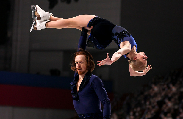 Evgenia Tarasova and Vladimir Morozov