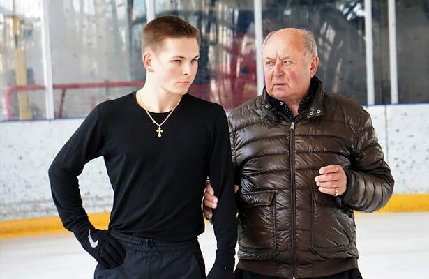 Mikhail Kolyada and Alexei Mishin