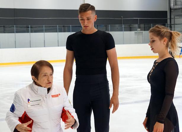 Anastasia Mishina and Aleksandr Galliamov