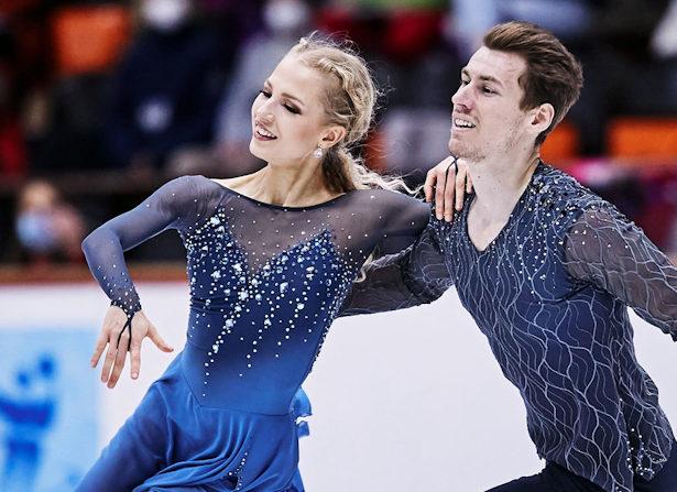 Juulia Turkkila and Matthias Versluis of Finland