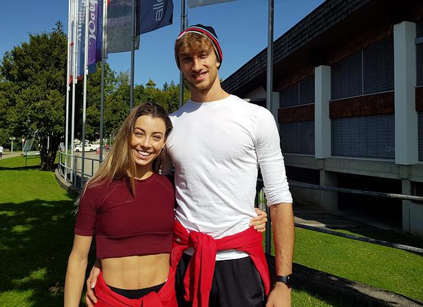 Laura Barquero and Marco Zandron
